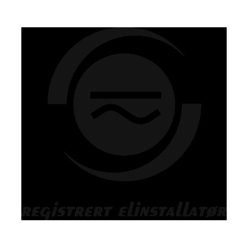 Registrert elinstallatør logo
